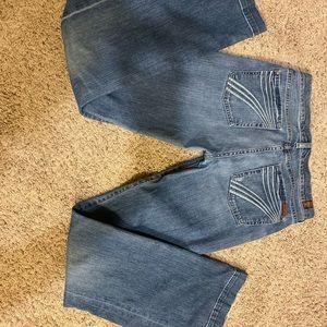 7 For All Mankind Dojo Flare Jeans **LONG**